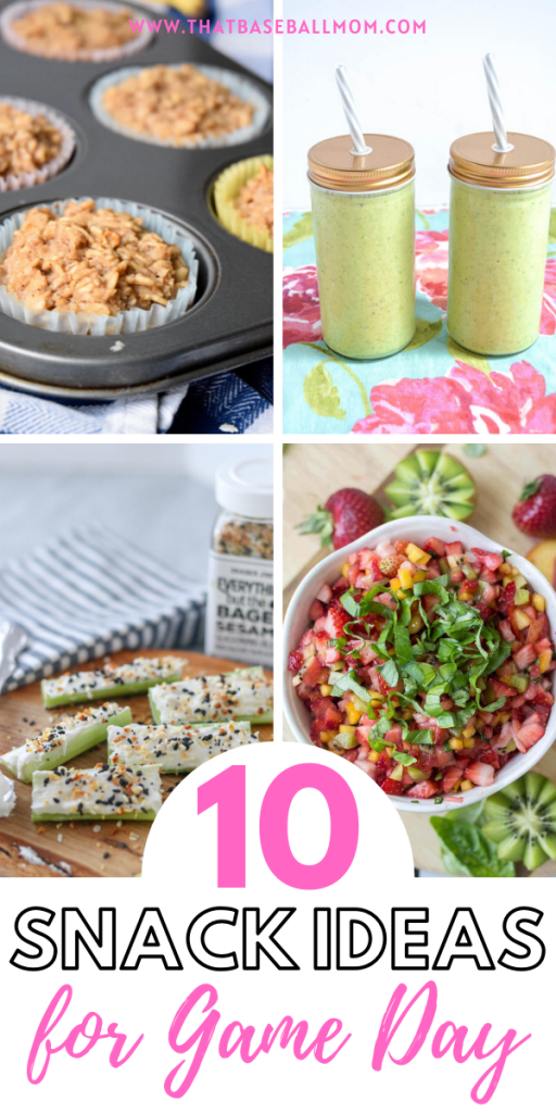 10 Healthy Snack Ideas for Game Day