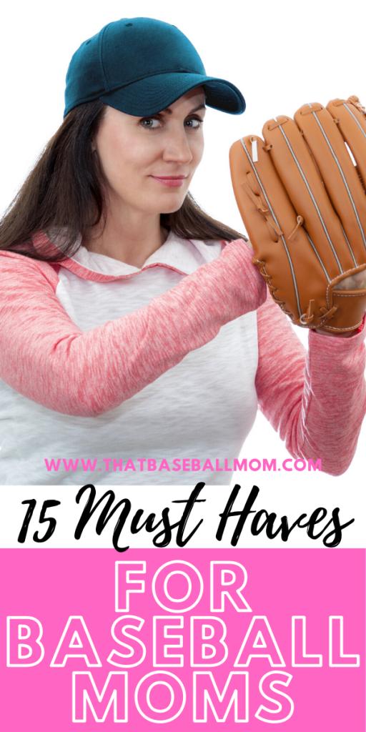 Must Haves for Baseball Moms