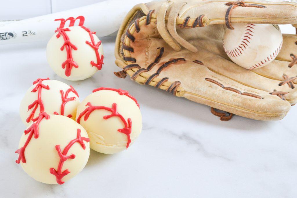 Baseball Hot Chocolate Bombs