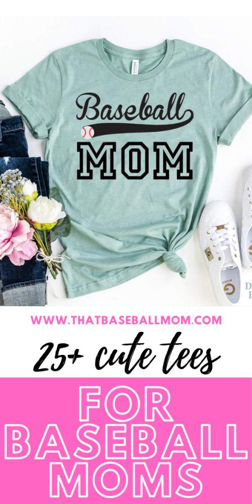 20 Cute Tees for Baseball Moms