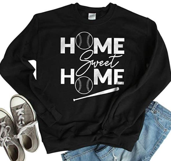 Home Sweet Home Baseball Sweatshirt