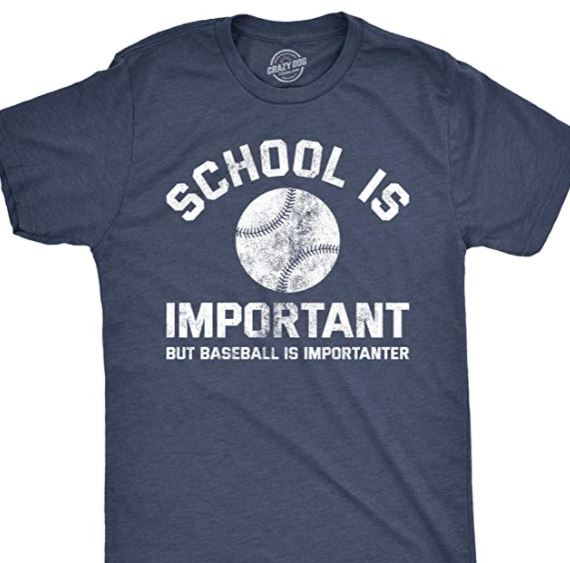 School is Important But Baseball is Importanter