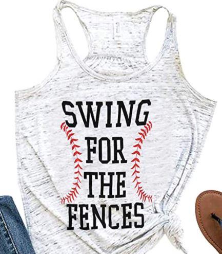 Swing for the Fences Baseball Mom Shirt