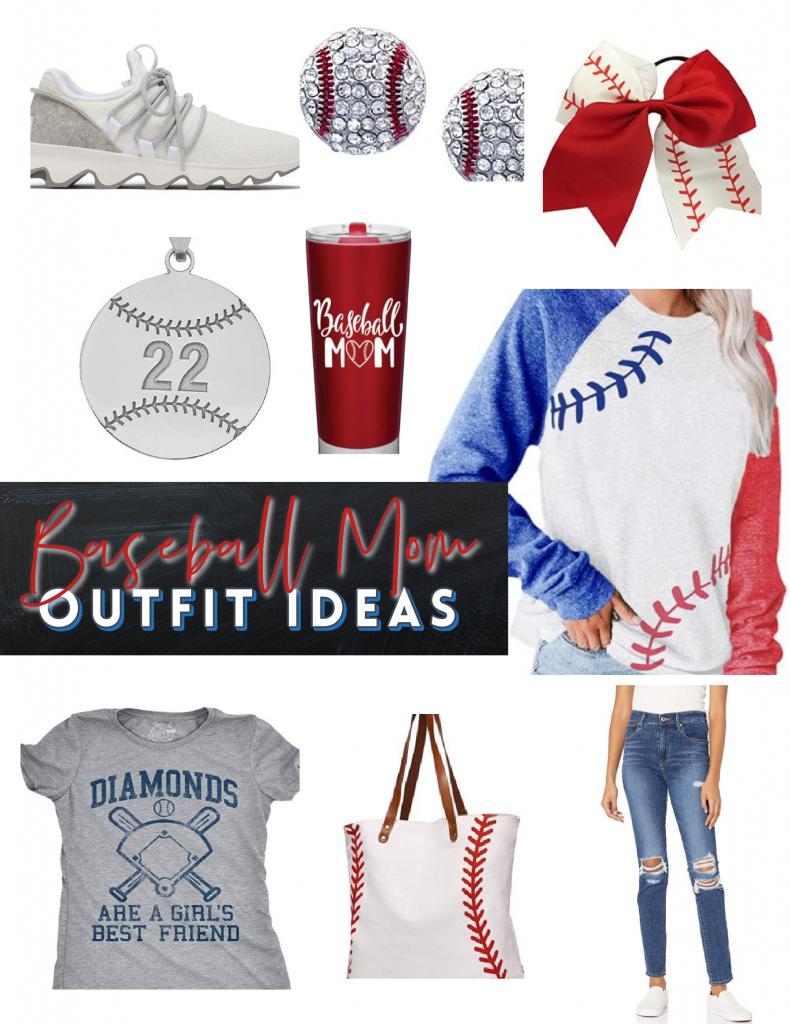 cute baseball mom outfits