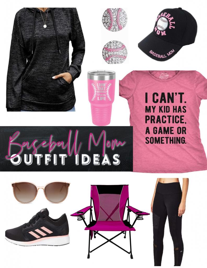 fun baseball mom outfits