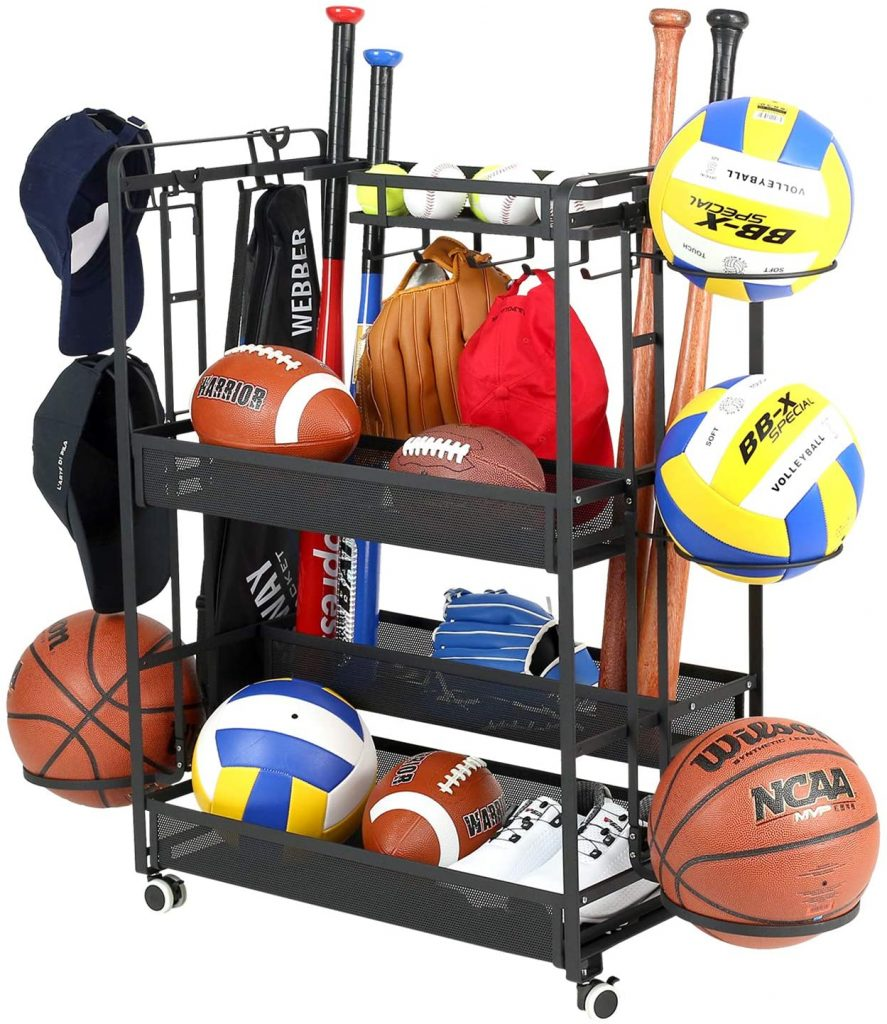 rolling sports cart