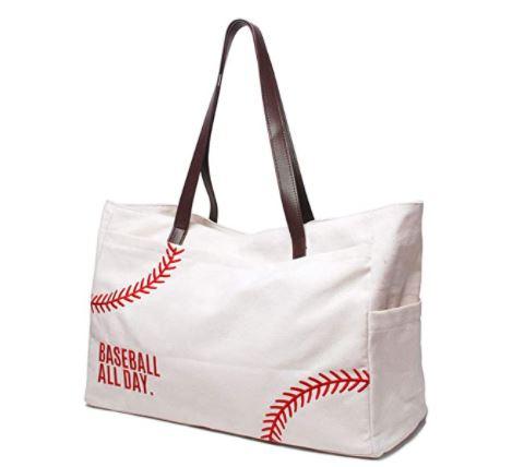 Baseball All Day Tote Bag