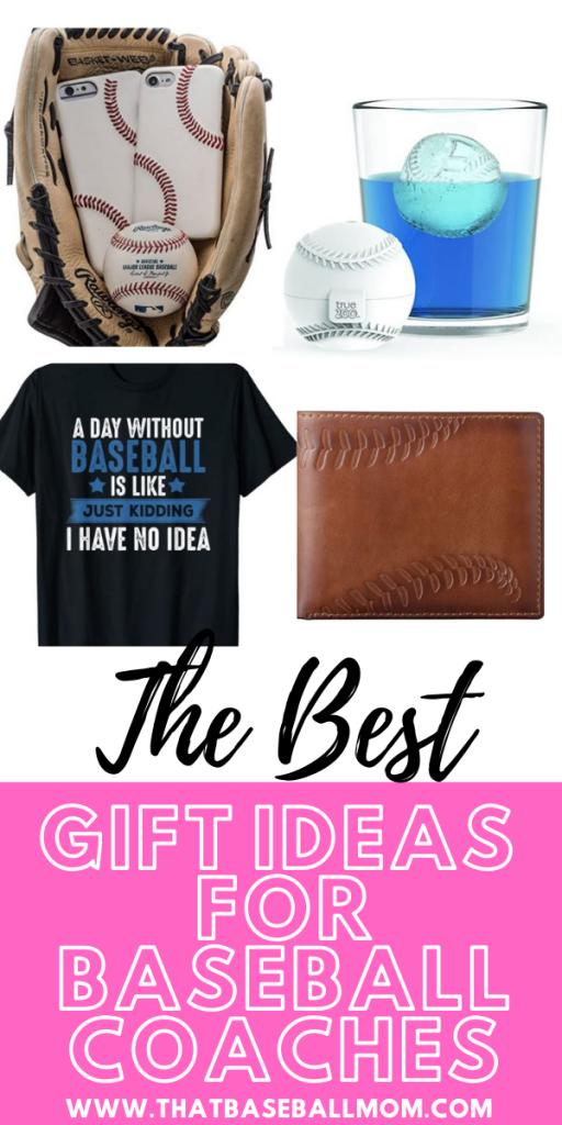 Baseball Coach Gifts Pinterest