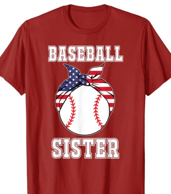 sister shirt for baseball