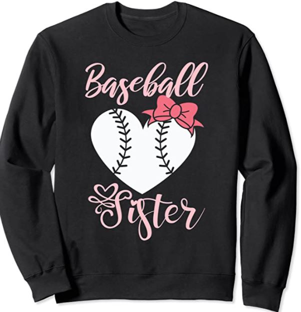 little sister baseball shirt