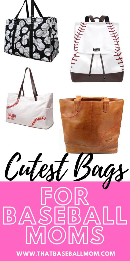 cutest bags for baseball moms