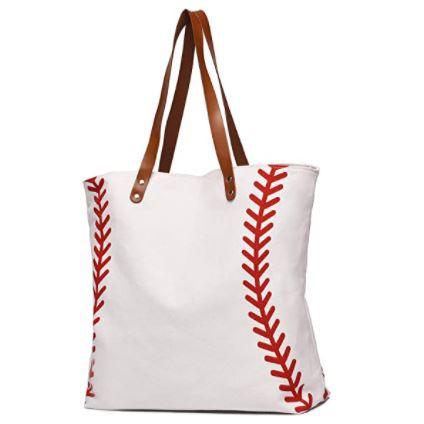 Baseball Tote Bags for Moms