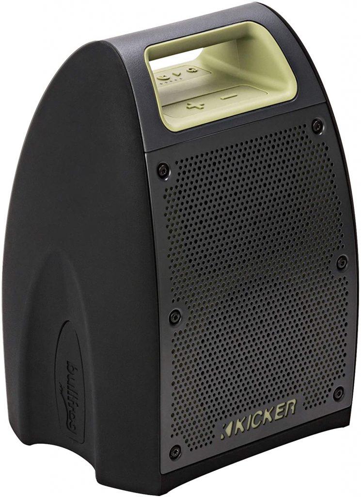 Kicker outdoor portable speaker