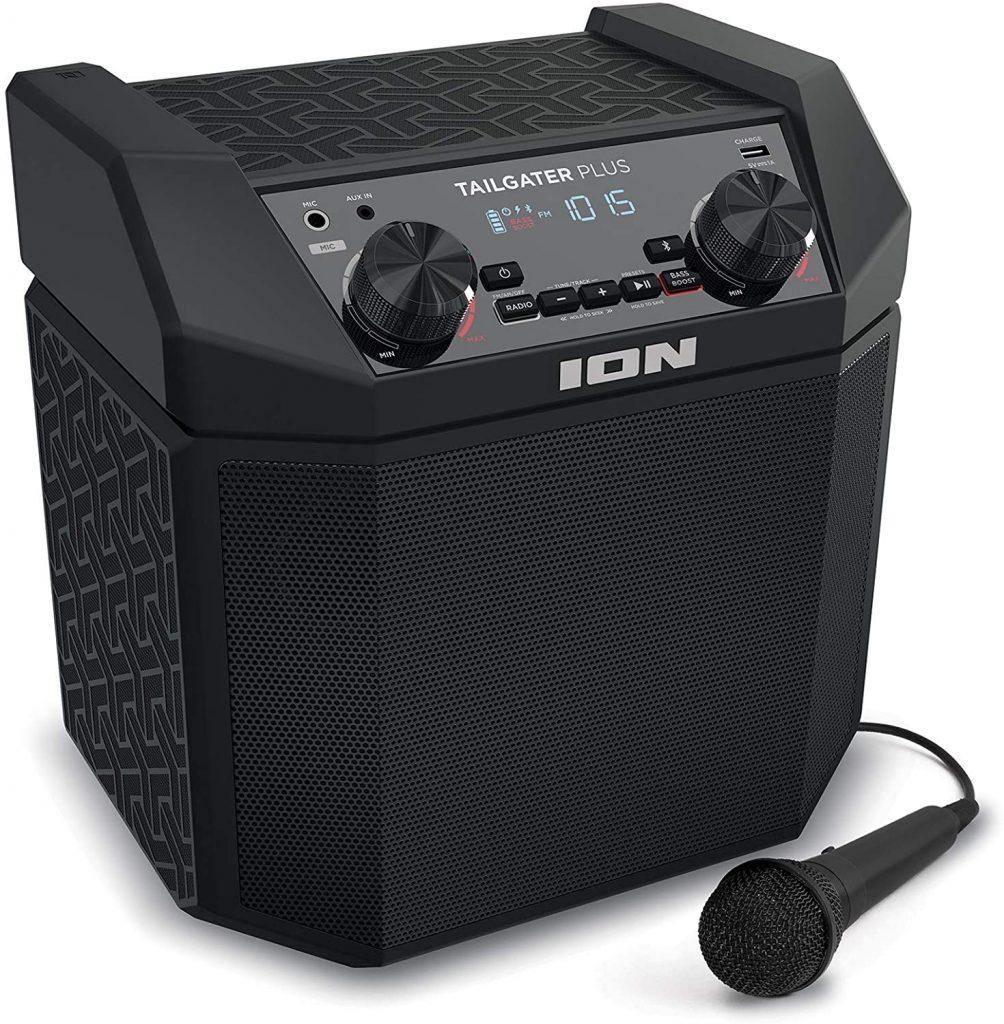 ion outdoor portable speaker