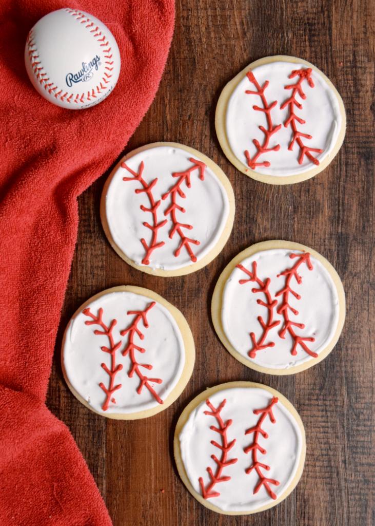 baseball cookie ideas