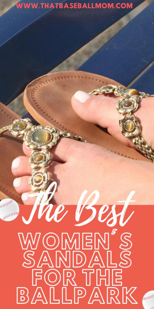 the best women's sandals for the ballpark
